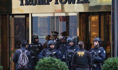 Mật vụ Mỹ phải rời Tháp Trump do tranh chấp tiền thuê nhà
