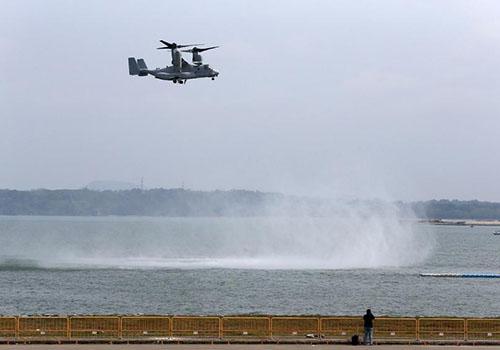 Máy bay quân sự Mỹ gặp nạn ngoài khơi Australia
