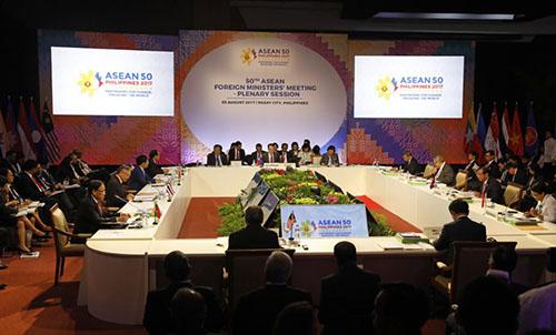 ASEAN thông qua dự thảo khung bộ quy tắc ứng xử trên Biển Đông