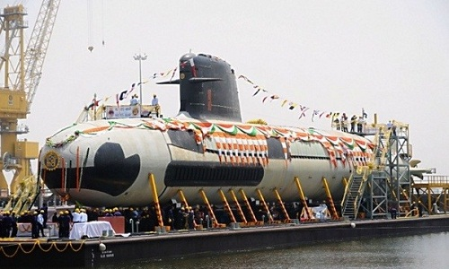 Ấn Độ sắp biên chế tàu ngầm tối tân đối phó Trung Quốc