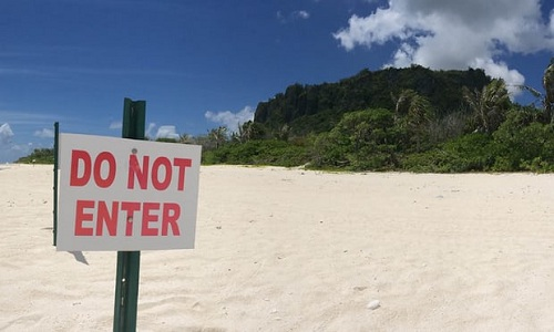 Cuộc sống nơi đầu sóng ngọn gió ở Guam