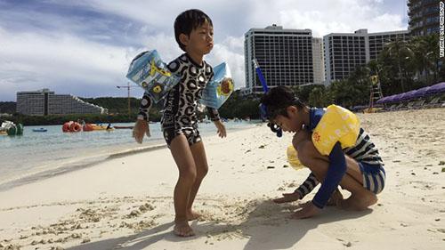 Guam 'bình chân như vại' dù bị Triều Tiên dọa tấn công