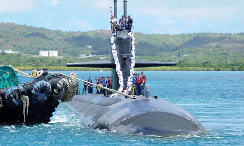 Căn cứ tàu ngầm ở Guam giúp Mỹ kiểm soát Tây Thái Bình Dương