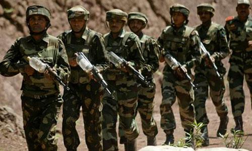 Ấn Độ tăng quân ở biên giới với Trung Quốc