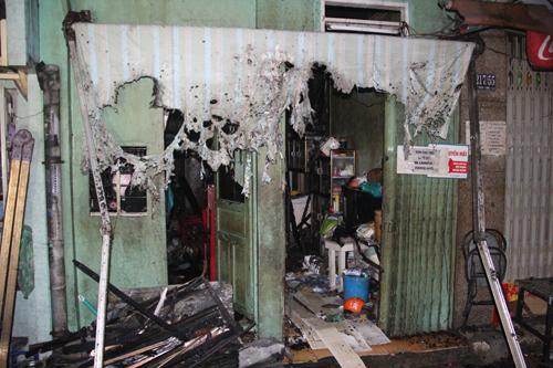 Cháy nhà ở phố Tây Sài Gòn - Ảnh minh hoạ 2