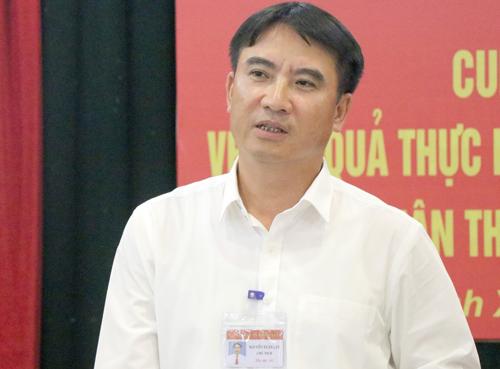 Phó chủ tịch quận ở Hà Nội