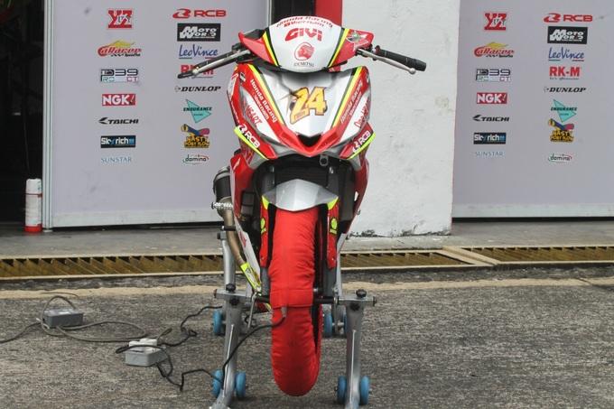 Honda Winner độ có thể đạt tốc độ 170 km/h