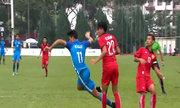 Lào 0-2 Singapore(Lượt 3 - Bảng A Sea games 29)