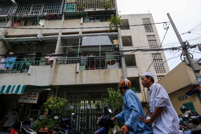 Cuộc sống của người Chăm trong chung cư ở Sài Gòn