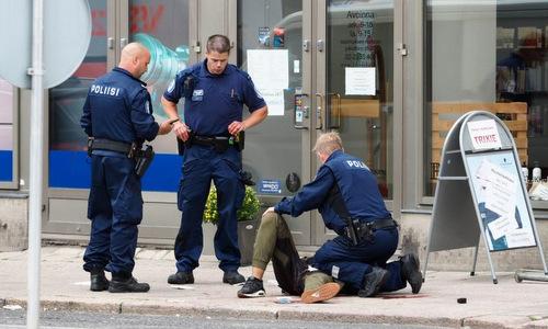 Phần Lan bắt thêm 5 người sau vụ đâm dao khủng bố