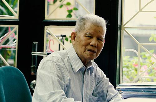 GS.TS Đặng Huy Huỳnh đã có nhiều đóng góp tích cực và thiết thực cho bảo tồn đa dạng sinh học của quốc gia và các nước trong khu vực. Ảnh: Báo khoa học và phát triển.