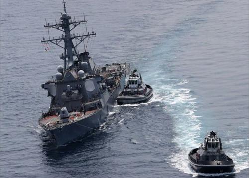 Giả thuyết về nguyên nhân chiến hạm Mỹ liên tục va chạm tàu hàng - Ảnh minh hoạ 3