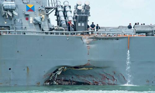Nguy cơ đâm va vì phụ thuộc công nghệ của tàu chiến Mỹ