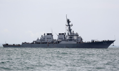 Hai tàu chiến bị đâm, lá chắn tên lửa Mỹ lộ lỗ hổng