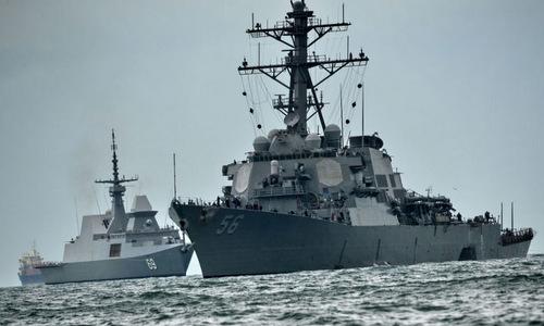 Thuyết âm mưu chiến hạm Mỹ bị gây nhiễu GPS khi đâm tàu dầu