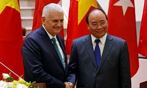 Thổ Nhĩ Kỳ muốn hợp tác dầu khí và quốc phòng với Việt Nam