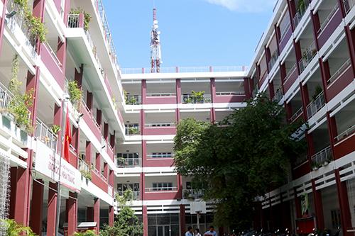 Sở Giáo dục Khánh Hòa xác định trường iSchool ở Nha Trang chưa đủ điều kiện mở dạy lớp 1. Ảnh: Xuân Ngọc