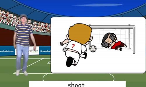 Học từ vựng bóng đá qua bài hát tiếng Anh vui nhộn