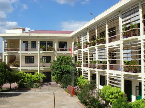 Khu liên hợp Cơ sở Trường Đại học Nội vụ Hà Nội ở TP HCM.
