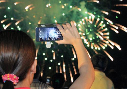 TP HCM bắn pháo hoa ở Đầm Sen mừng Quốc khánh