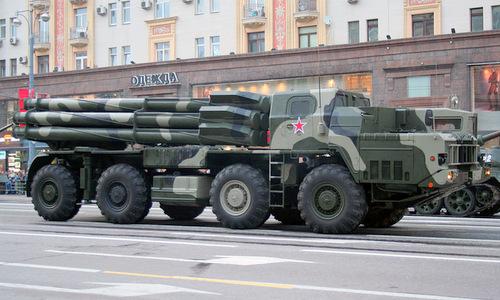 Pháo phản lực BM-30 có biệt danh