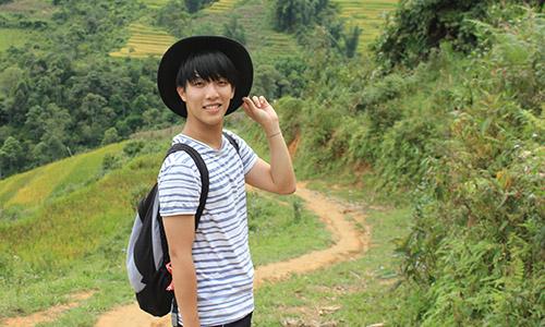 Chàng trai Ý gốc Việt muốn tìm cách giúp quê hương hút du khách