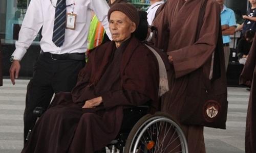 Thiền sư Thích Nhất Hạnh về Việt Nam