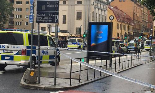 Cảnh sát thủ đô Thụy Điển bị tấn công chớp nhoáng bằng dao