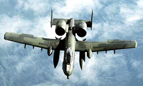 Cường kích A-10 ném bom diệt boongke xóa sổ toán bắn tỉa IS