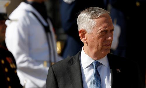 Mattis phủ nhận có bất đồng với Trump về Triều Tiên