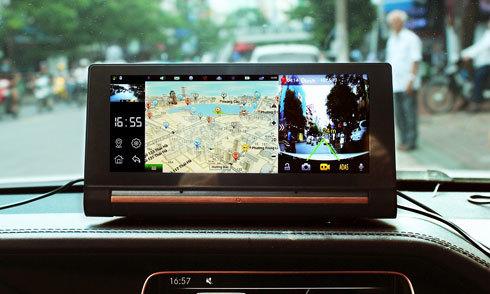 Webvision N93 - camera hành trình kiêm trợ lý lái xe