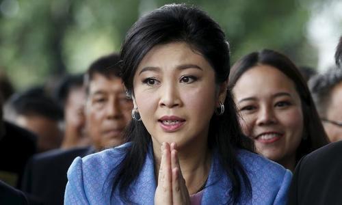 Cảnh sát Thái Lan phát hiện xe tình nghi đưa bà Yingluck bỏ trốn
