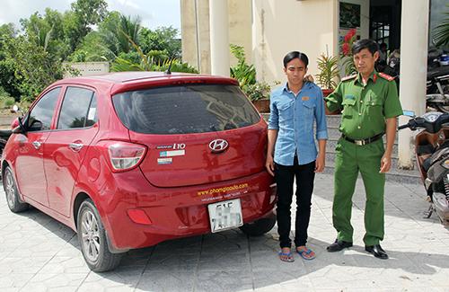 Trộm ôtô ở Sài Gòn chạy sang Campuchia bán