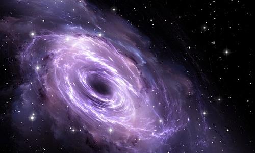 Hố đen do các nhà khoa học Nhật phát hiện có thể là hố đen lớn thứ hai trong dải Ngân hà. Ảnh minh họa: Jurik Peter.