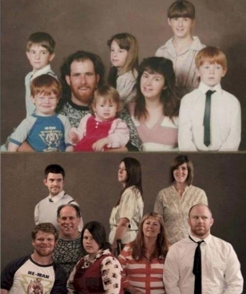 Đại gia đình vẫn như xưa.