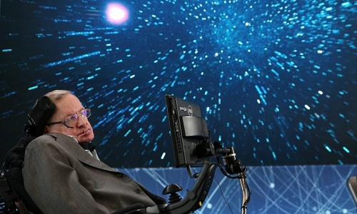 Giáo sư Hawking nói con người có thể thuộc địa hóa hành tinh khác trong tương lai. Ảnh: Jemal Countess.