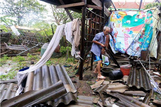 Đời sống: Ba tỉnh miền Trung thiệt hại nặng sau bão