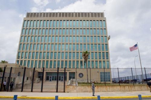 Đại sứ quán Mỹ tại Cuba. Ảnh: Wikipedia.