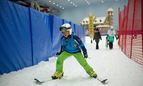 Khu trượt tuyết trong nhà lớn nhất thế giới của Trung Quốc