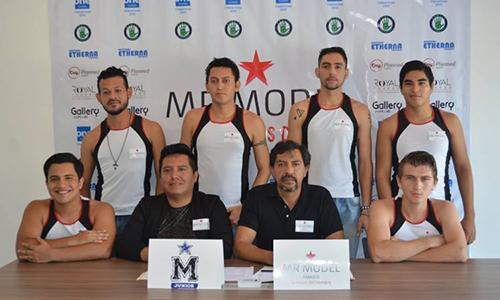 6 thí sinh được ban tổ chức cuộc thi Người mẫu nam bang Tabasco, Mexico năm 2017 chấp nhận. Ảnh: Facebook.