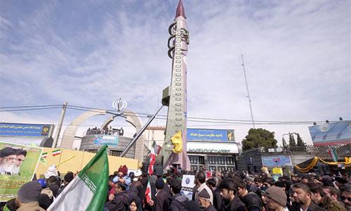Israel nói vụ thử tên lửa của Iran là 'hành động khiêu khích'