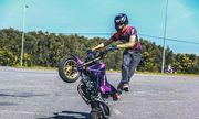 Mạo hiểm với thú chơi mô tô stunt của giới trẻ Sài Gòn