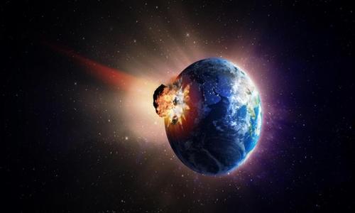 Một vụ va chạm tiểu hành tinh lớn vào Trái Đất có thể tiêu diệt toàn bộ sự sống. Ảnh: Alamy.