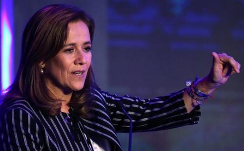 Cựu đệ nhất phu nhân Mexico bà Margarita Zavala. Ảnh: Reuters.