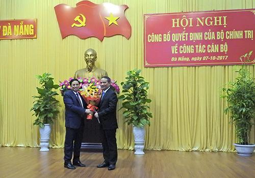 Bộ trưởng Giao thông được phân công làm Bí thư Đà Nẵng