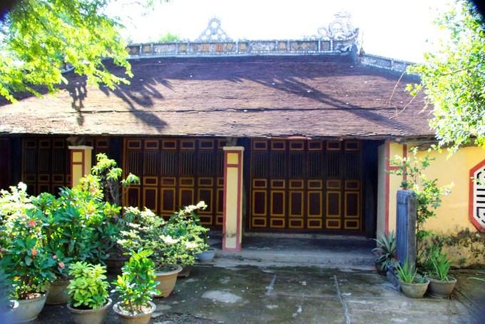 Đền thờ tổ nghề hát tuồng gần 200 năm tuổi ở Huế - Ảnh minh hoạ 2