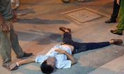 Thanh niên 'nằm vạ' phản đối ông Đoàn Ngọc Hải cẩu ôtô vi phạm