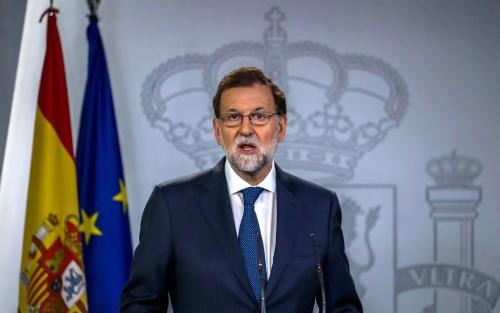 Thủ tướng Tây Ban Nha Mariano Rajoy. Ảnh: Telegraph.