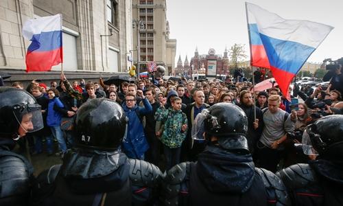 Biểu tình tại 80 thành phố Nga vào sinh nhật Putin