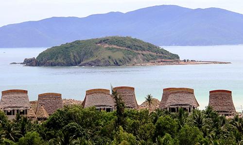 Khu du lịch sinh thái lấp gần 13.000 m2 vịnh Nha Trang